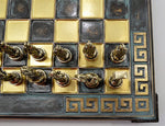 Ancient Greek Chess Set - Green