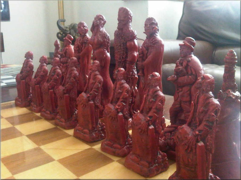 Scary Chess Set