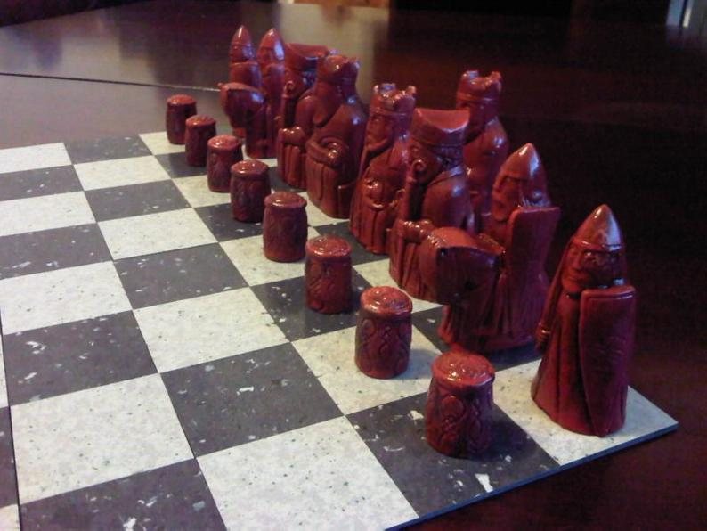 Isle of Lewis Chess Set - New Edition