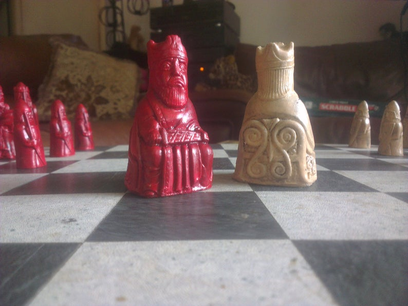 Isle of Lewis Chess Set - New Variant