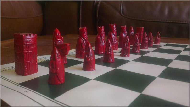 Isle of Lewis Chess Set - Small