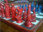 Dragons & Wizards Chess Set