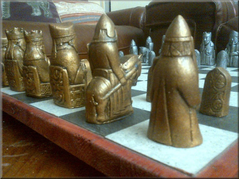 Isle of Lewis Antique Chess Set