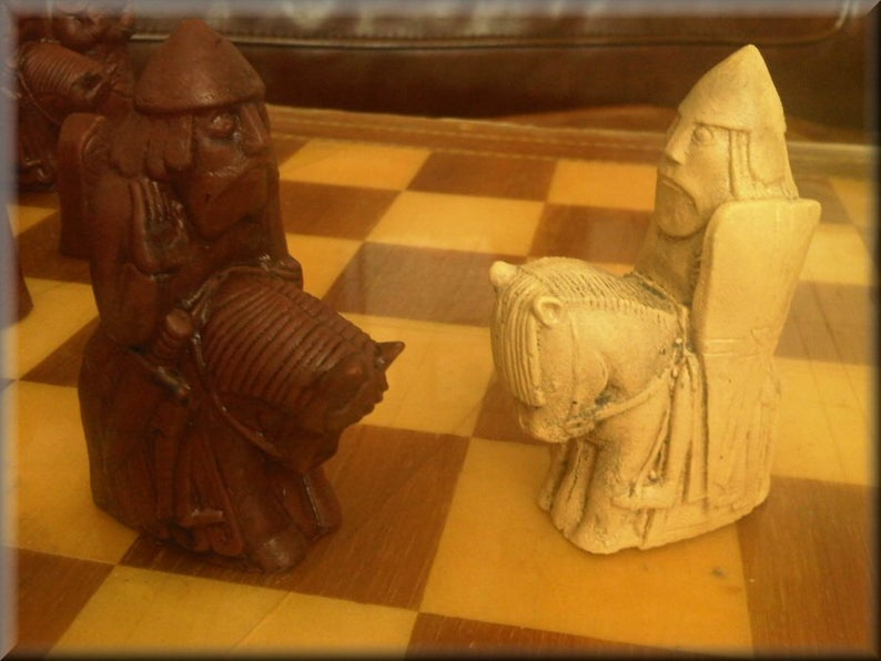 Medieval Isle of Lewis Chess Set New Version