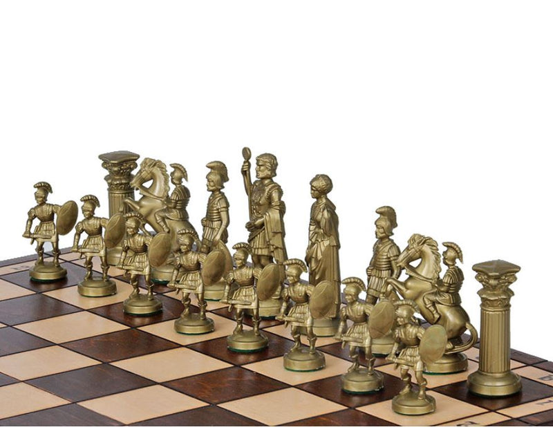 Roman Chess Set