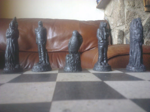 Ravens Chess Set