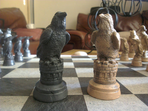 Falcons Chess Set