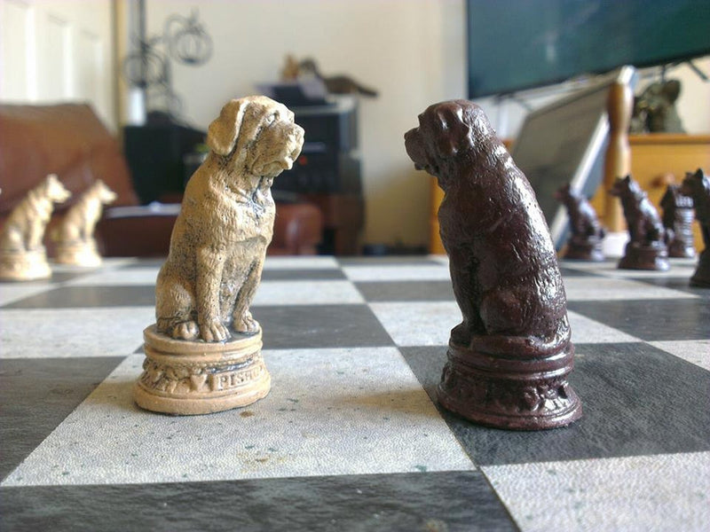 Dogs Chess Set