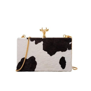 Rosaline as picture show 1 Small square shoulder bag in cowhide style