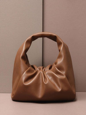 Rosaline bag Soft leather handbag in the shape of a cloud