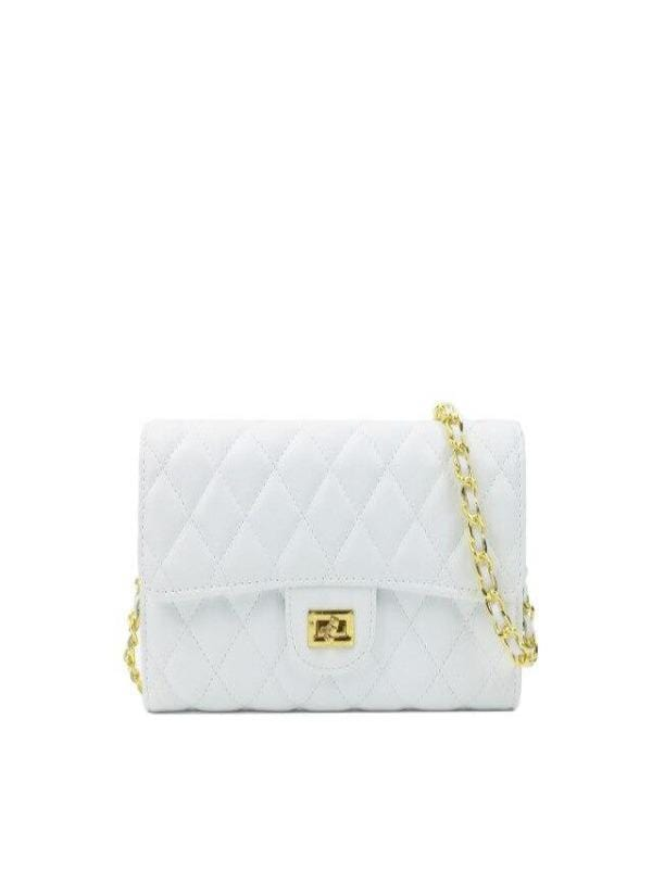 Rosaline bag White Leather shoulder bag
