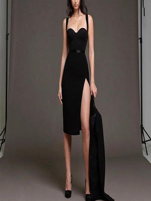 Rosaline Bandage dresses with a sexy belt