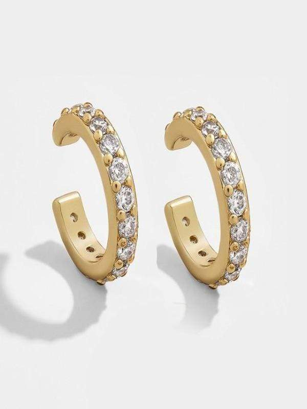 Rosaline Earrings 20621 Cuff earrings