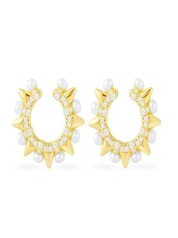 Rosaline Earrings 210561 Cuff earrings