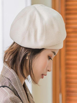 Rosaline hat beige / 56-60CM Sailor girl Cap