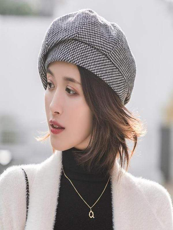 Rosaline hat black / 56-60CM Sailor girl Cap