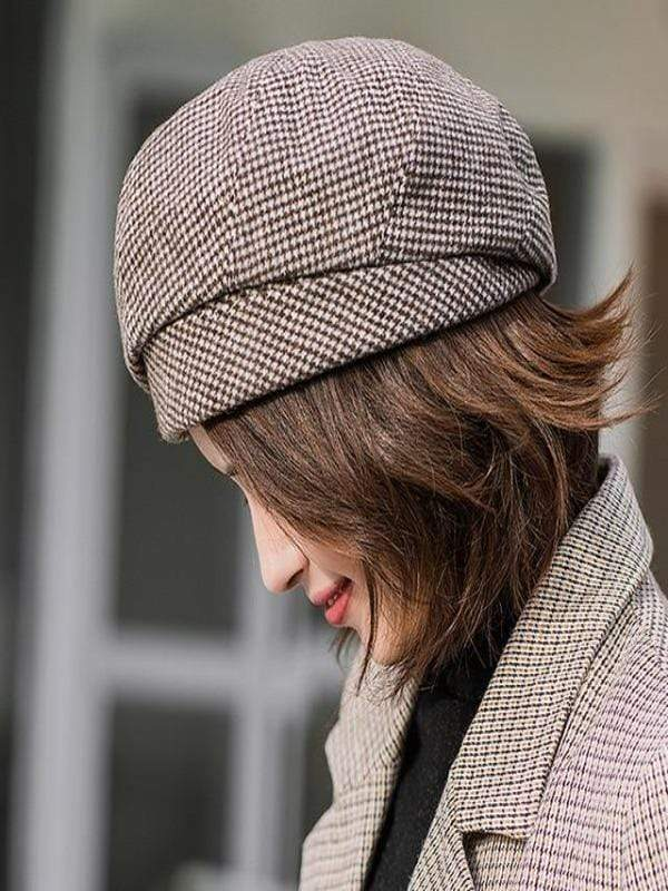 Rosaline hat coffee / 56-60CM Sailor girl Cap
