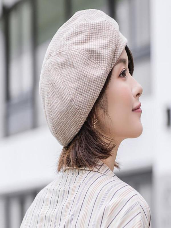 Rosaline hat Khaki / 56-60CM Sailor girl Cap