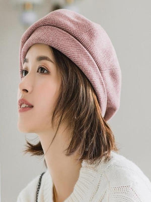 Rosaline hat wine red / 56-60CM Sailor girl Cap