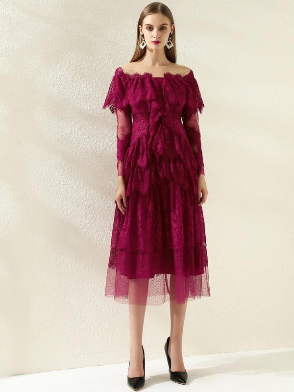 Rose&Lin Dress Dress Red