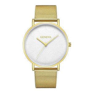 Rose&Lin watch F Women's rose gold watch, ultra-thin mesh strap