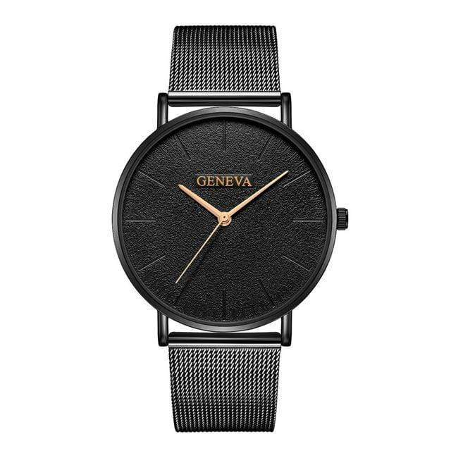 Rose&Lin watch I Women's rose gold watch, ultra-thin mesh strap
