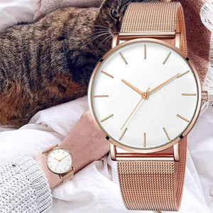 Rose&Lin watch Women's Watches Simple Fashion Women Wrist Watch Luxury Ladies Watch