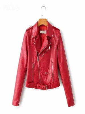 Silver Sam Jackets & Coats L / Red Leather Jacket