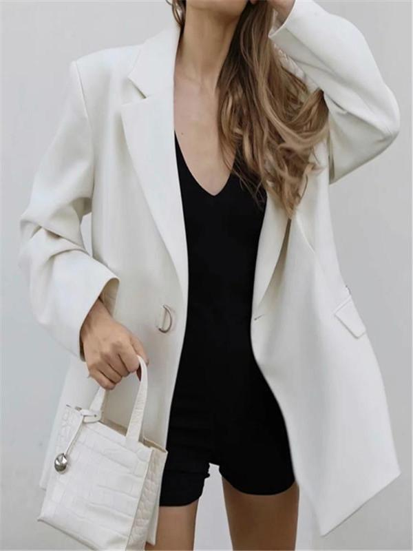 Silver Sam Jackets & Coats White Blazer Coat