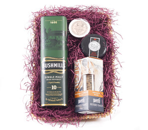 Whiskey Hamper with Bushmills