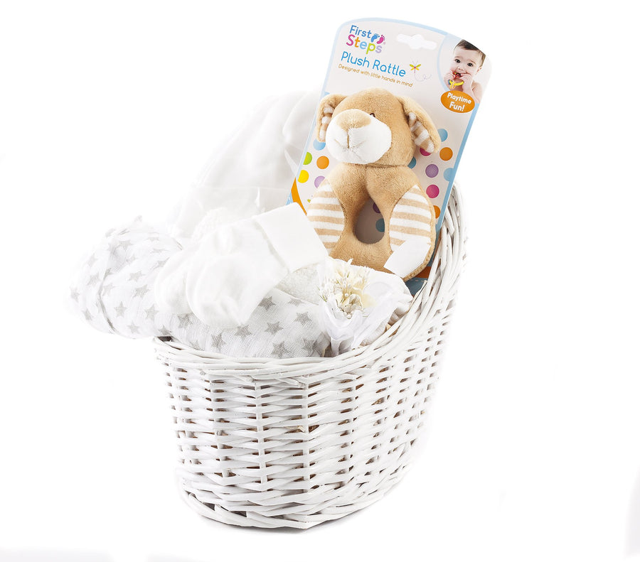 Just For Baby Hamper (White)