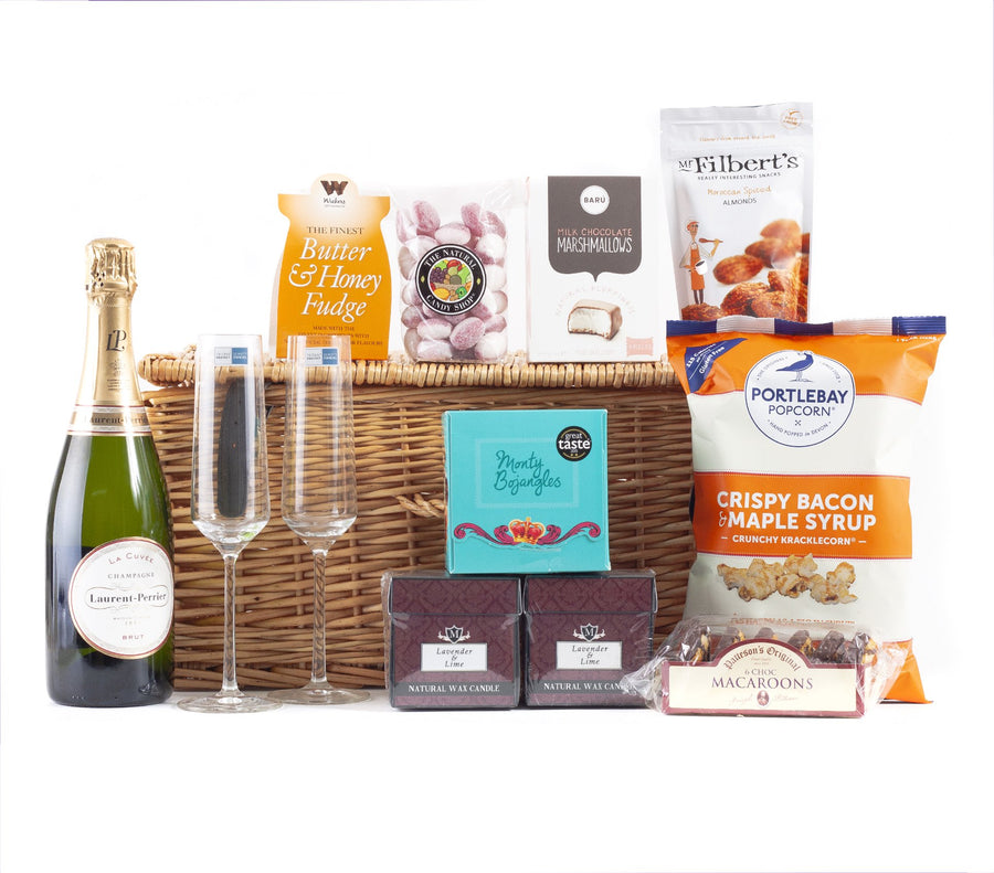 Champagne Hamper with Laurent Perrier Champagne
