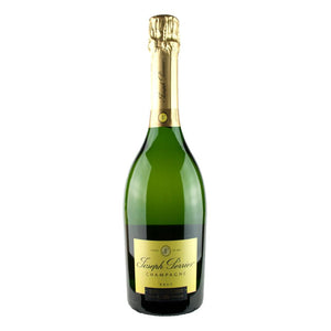 A sparkling white wine from France. Joseph Perrier Champagne.