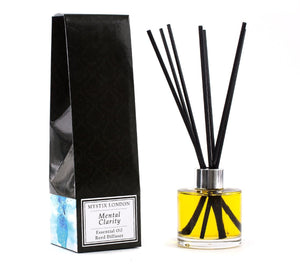 Mental Clarity - Essential Oil Reed Diffuser - Mystic Moments UK