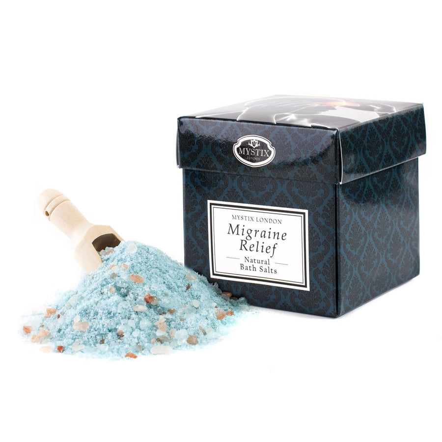 Migraine Relief Bath Salt - 350g - Mystic Moments UK