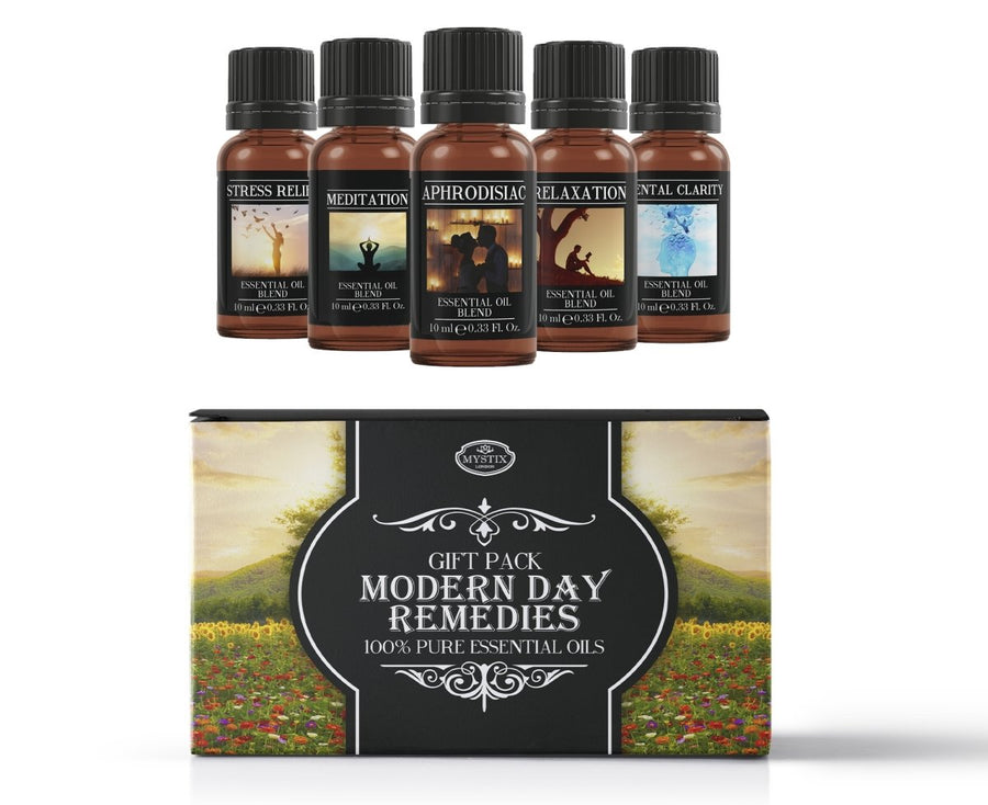 Modern Day Remedies | Essential Oil Blend Starter Pack - Mystic Moments UK