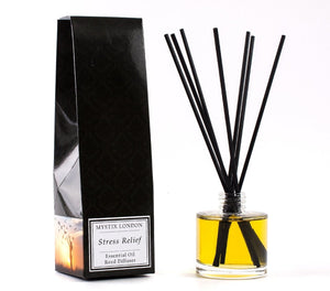 Stress Relief - Essential Oil Reed Diffuser - Mystic Moments UK