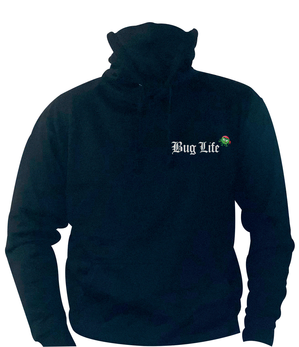 'Bug Life' Ninja Hoodie with built in face mask