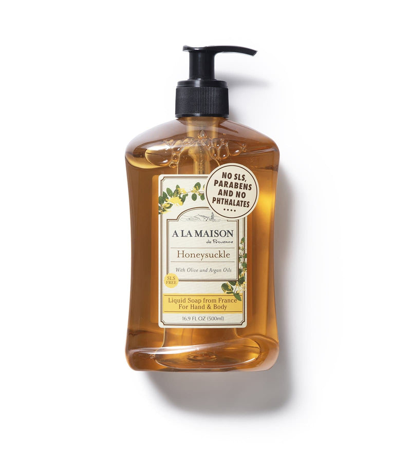 Honeysuckle Liquid Soap, 3 pack