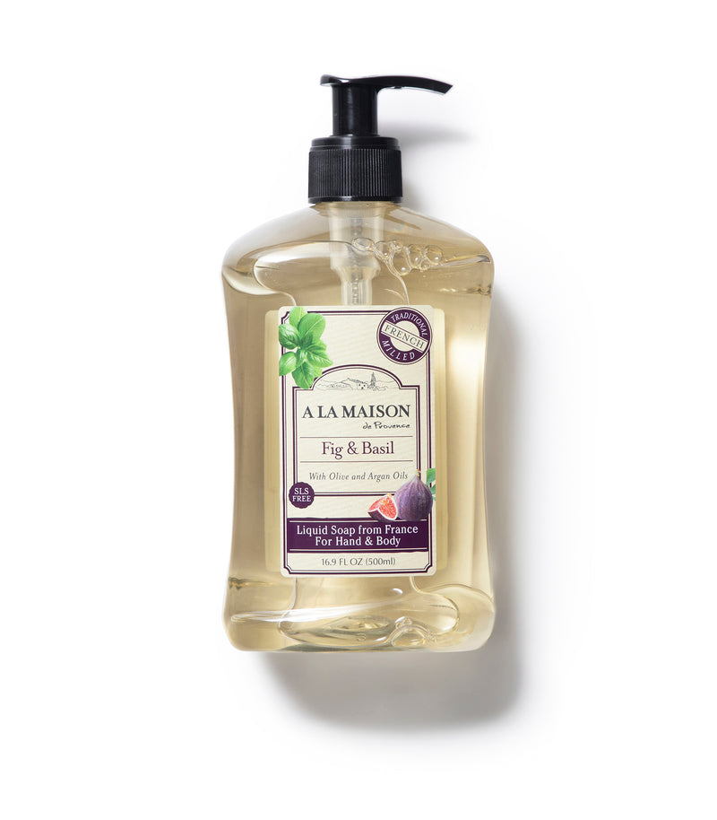 Fig & Basil Liquid Soap (3 Pack)