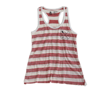 Load image into Gallery viewer, Red Striped Tank Top
