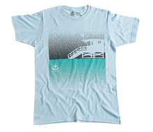 Load image into Gallery viewer, Lifeguard Tower Tee - Lt Blue