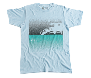 Lifeguard Tower Tee - Lt Blue