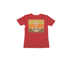 Load image into Gallery viewer, Red Anchor T Shirt Kids | by NO&YO