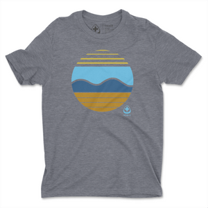 One Sun & Waves Tee