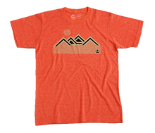 Load image into Gallery viewer, Mountains T Shirt Orange
