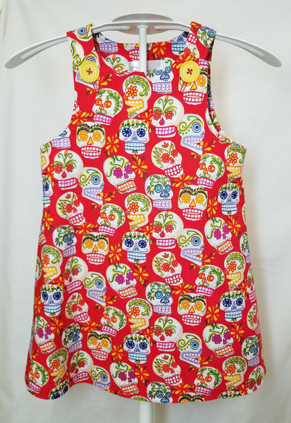 sugar skull dress for children