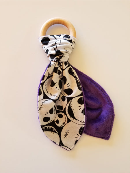 skellington teether