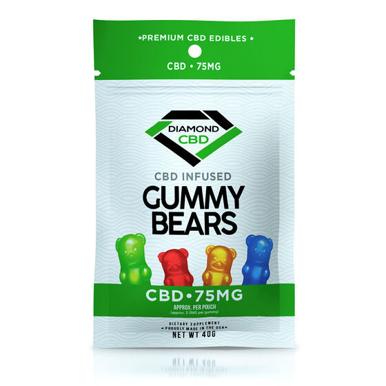 Gomitas infusionadas CBD 75mg - Gummy Bears