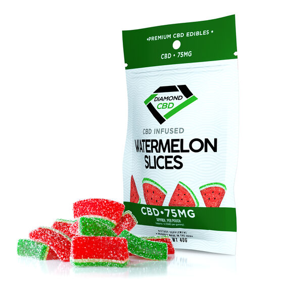 Gomitas infusionadas CBD 75mg - Watermelon Slices